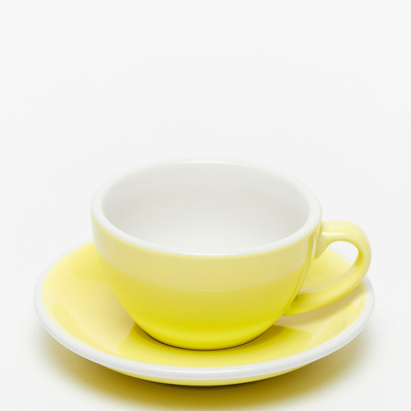 ACME Yellow Cappuccino Cup & Saucer Set (190ml)