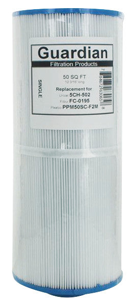 Replaces Unicel 5CH-502, Pleatco PPM35SC-F2M • Hot Tub & Spa Filter Cartridge-Filter Cartridge-FilterDeal.com