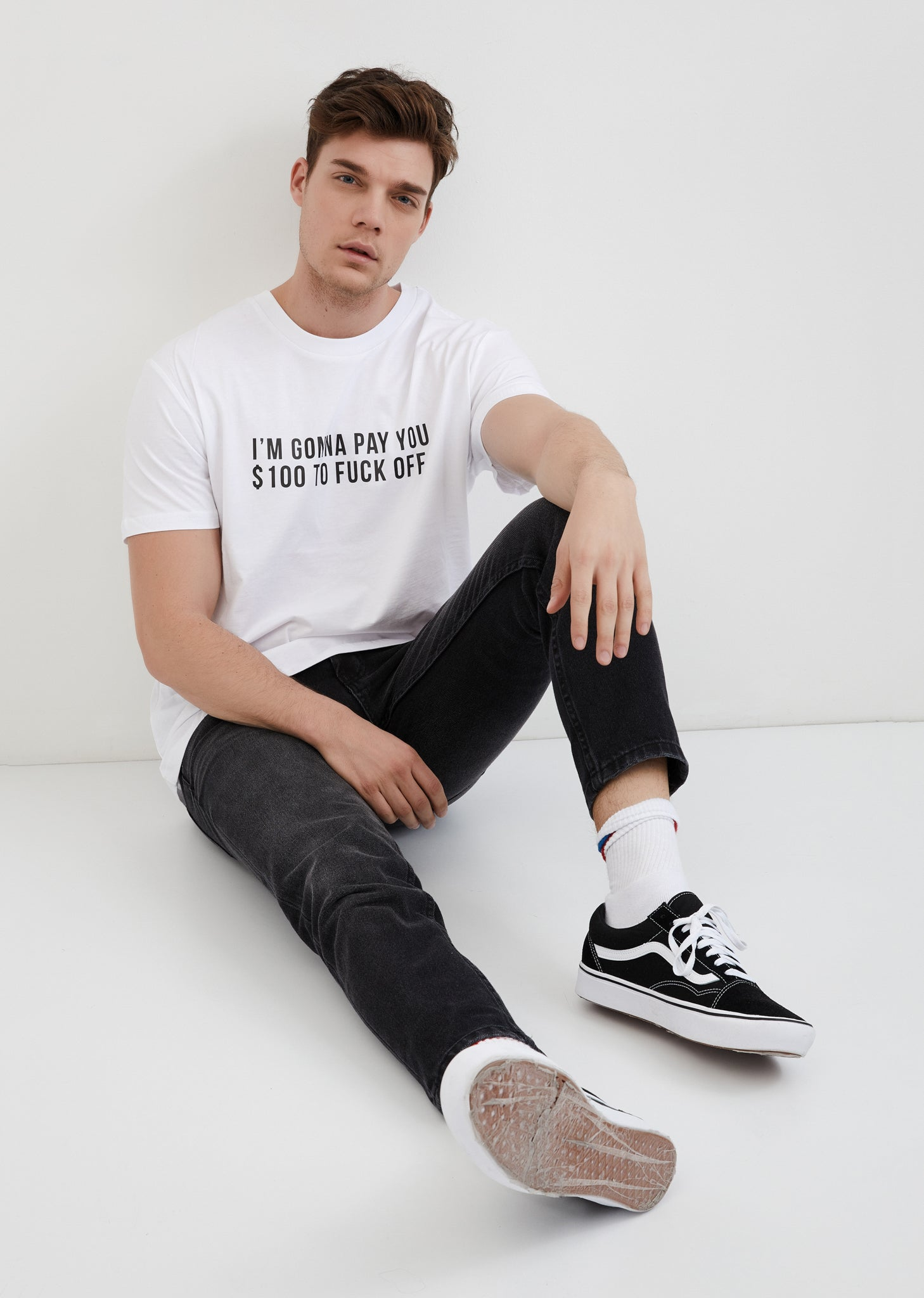 I'm Gonna Pay You 100$ to Fuck Off / Unisex T-shirt