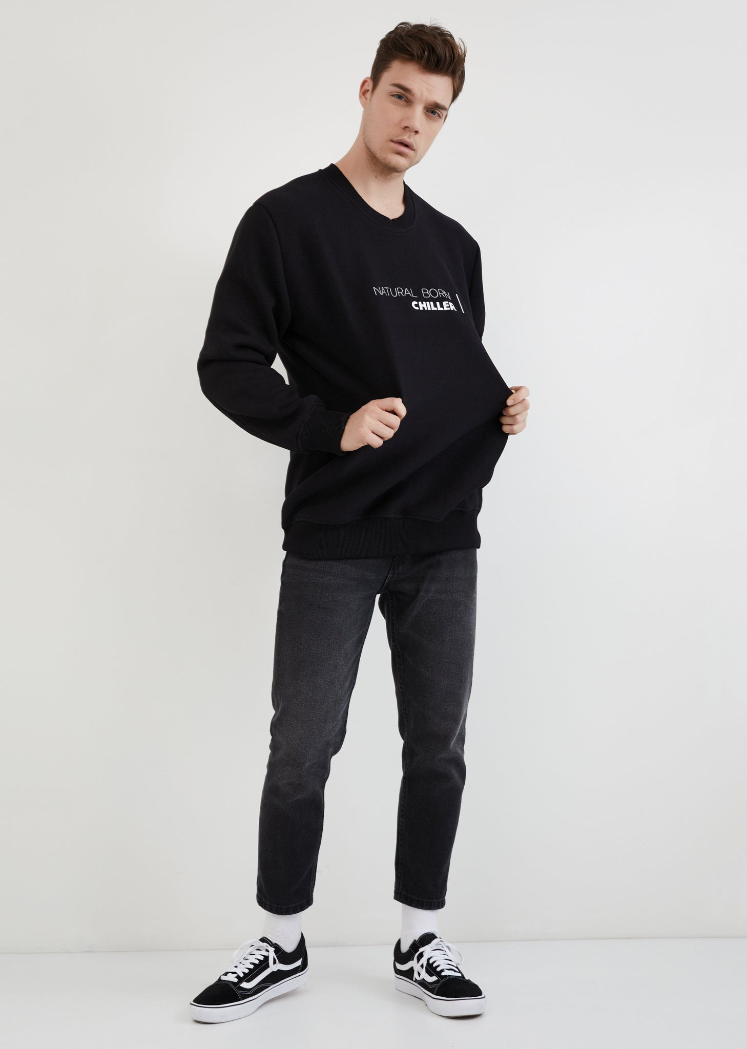 Natural Born Chiller / Unisex Sweatshirt