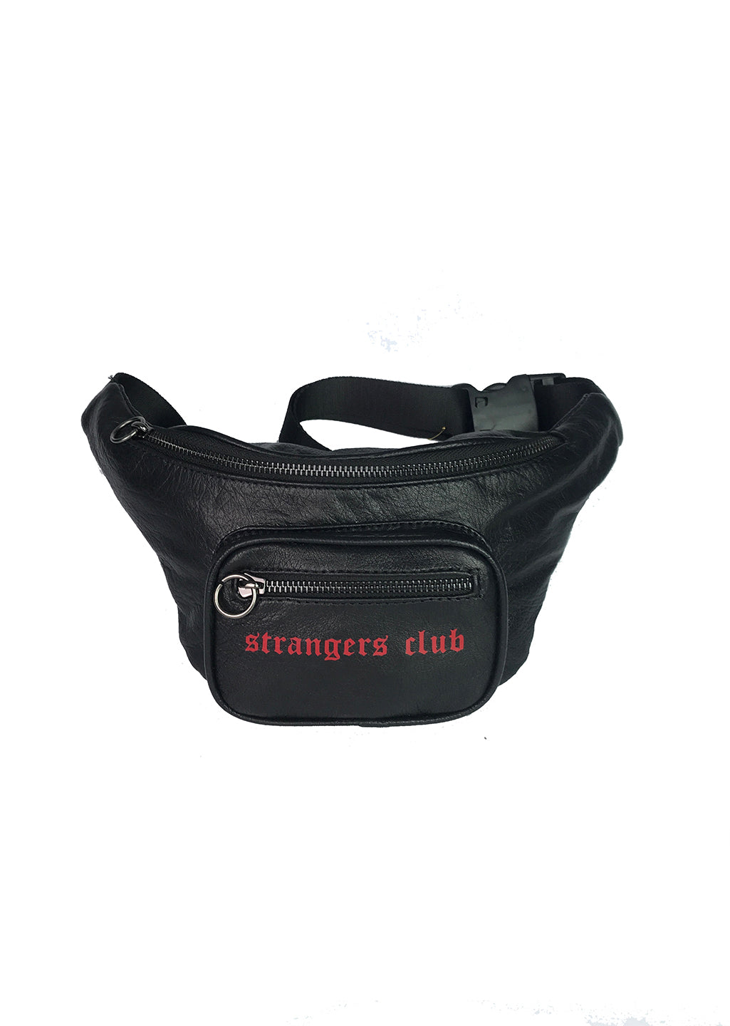 Strangers Club / Leather Belt Bag