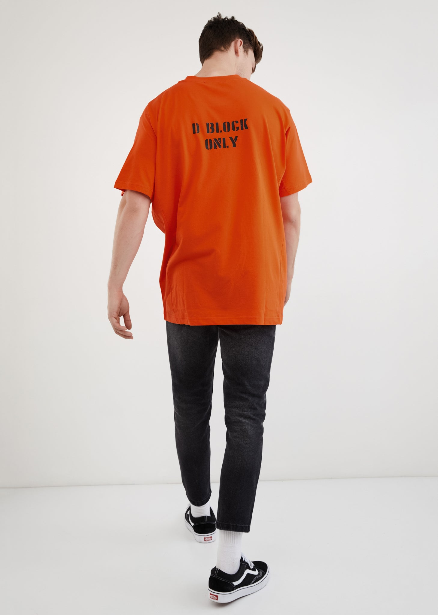 D Block Only (Serial Number) / Oversize T-shirt