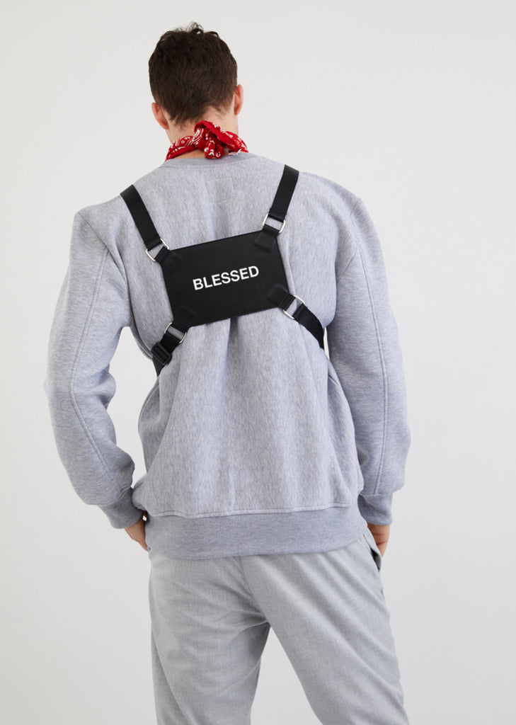 Blessed / Leather Chest Rig Bag