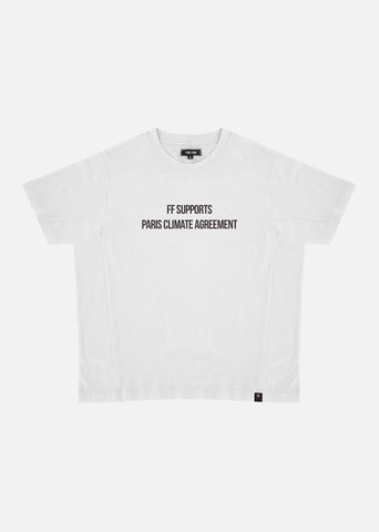 FF Supports Paris Climate Agreement / Oversize T-shirt