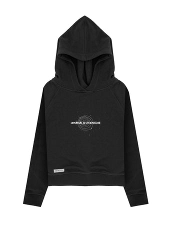 5th Dimension / Crop Hoodie
