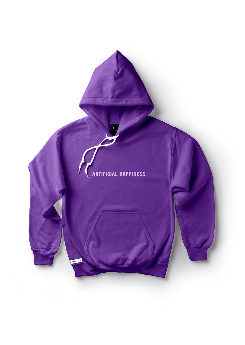 Artificial Happiness / Unisex Hoodie (Purple)