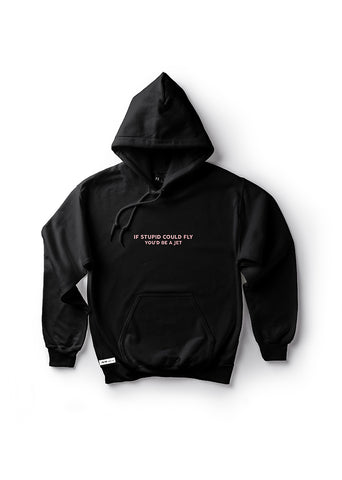 If Stupid Could Fly, You'd Be A Jet / Unisex Hoodie