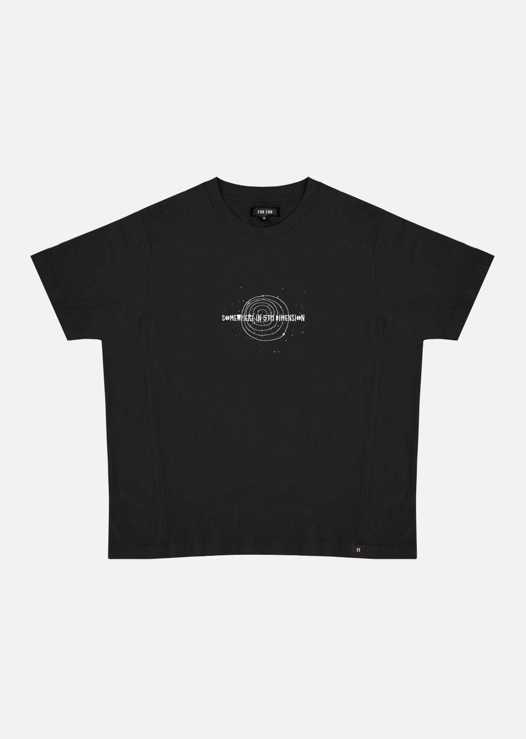 5th Dimension / Oversize T-shirt (Black)