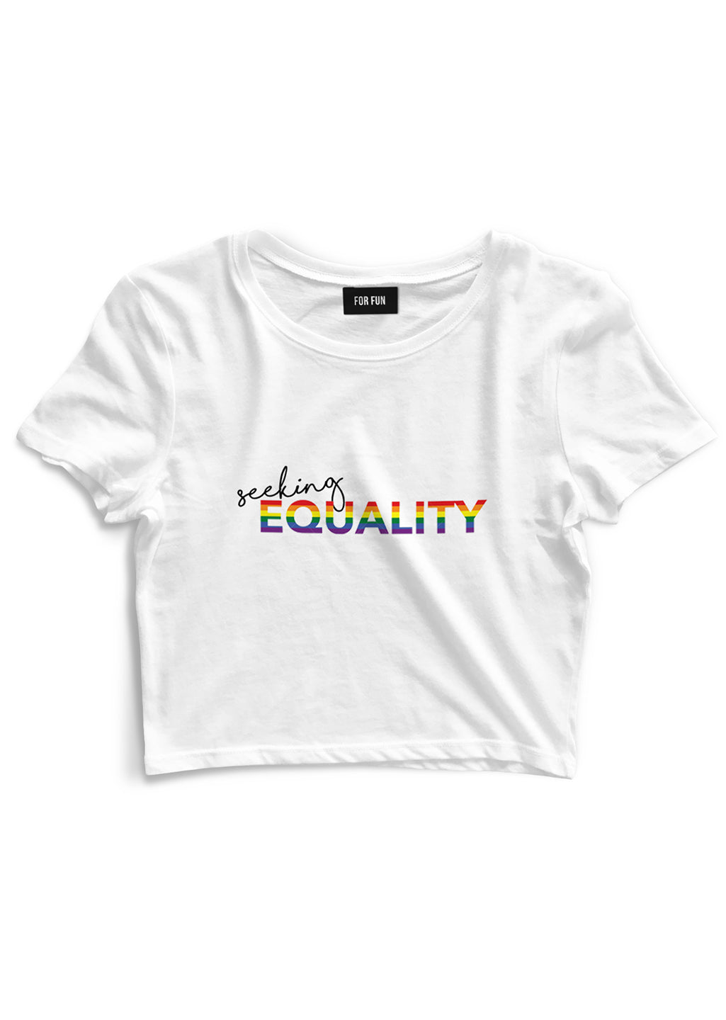 Seeking Equality / Crop Top