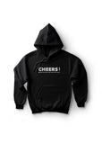 Cheers Because No Great Story Start With Salad / Unisex Hoodie
