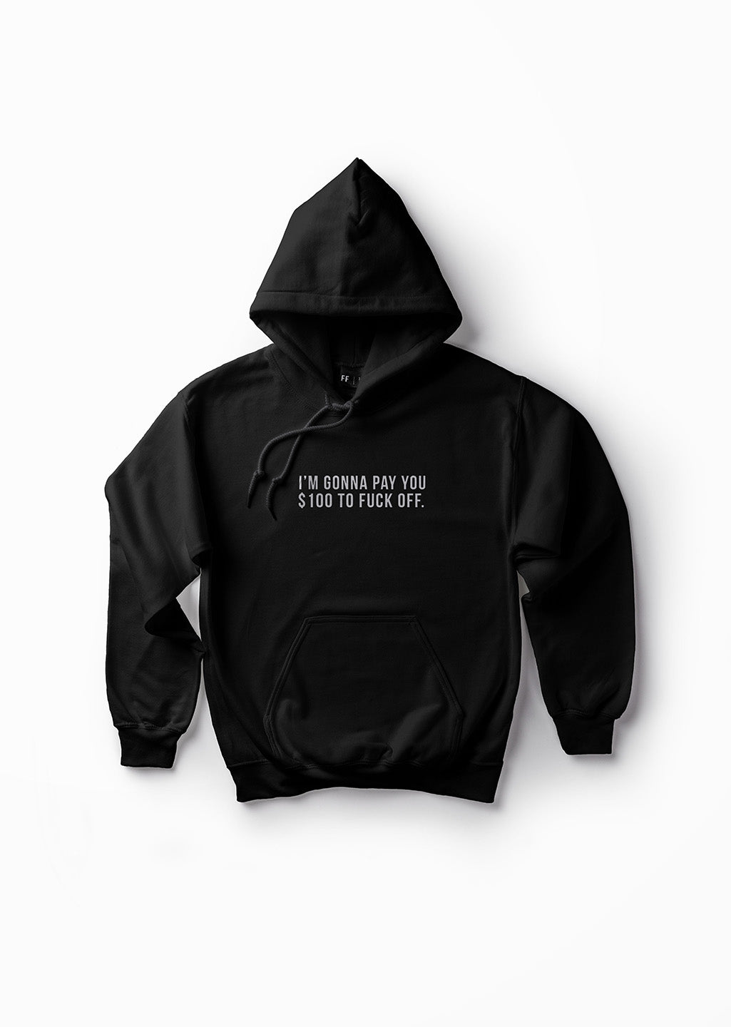I'm Gonna Pay You $100 to Fuck Off / Unisex Hoodie