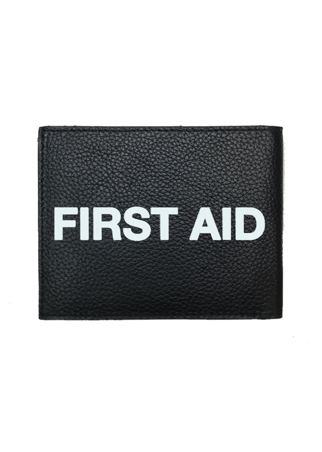 First Aid / Leather Wallet (black)