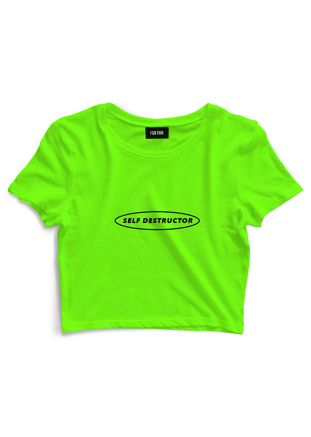 Self Destructor / Crop Top