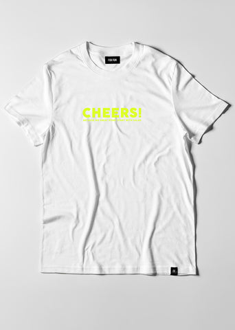 Cheer's Because No Great Story Start With Salad  / Oversize T-shirt