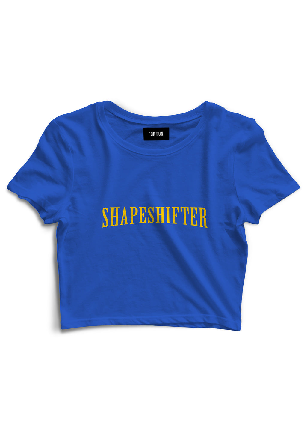 Shapeshifter / Crop Top (Blue)