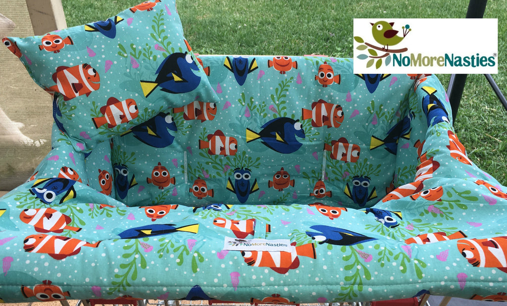Dory and Nemo Trolley Seat Cover-Deluxe Or Basic