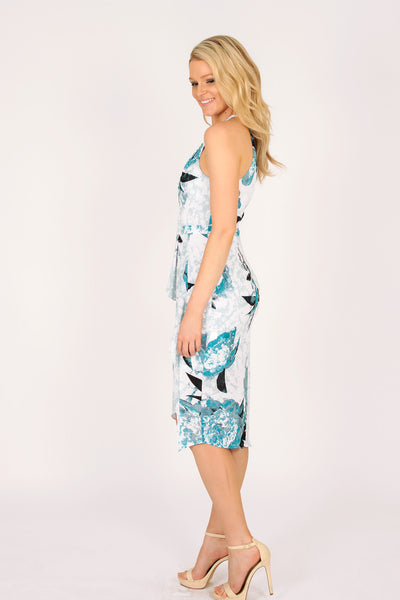 Splendours Asymmetrical Dress,Dresses - KassKo