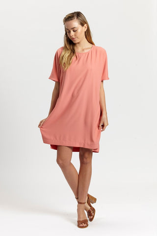 Ashley Dress  - Orange,Dresses - KassKo