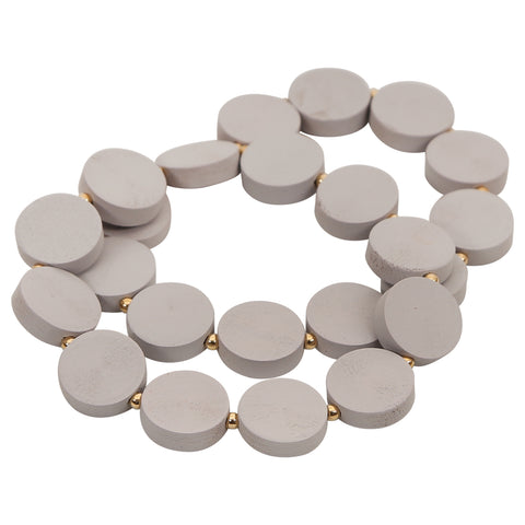 Brighton Double Stretch Bracelet - Grey