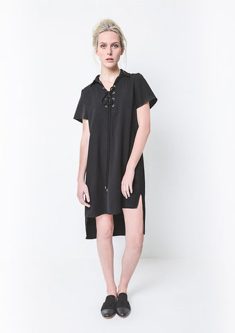Lennox Lace Up Dress,Dresses - KassKo