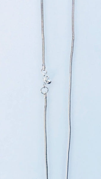 Silver With Gold Disc Pendant Necklace