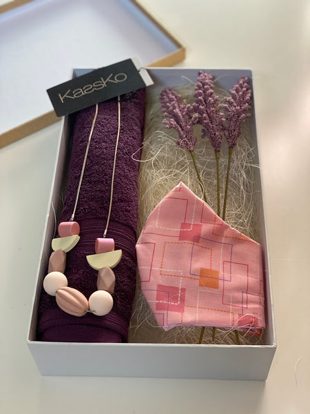 Something special personalised gift hamper - Purple