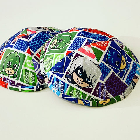 PJ Masks kippah / yarmulke (More colours available)
