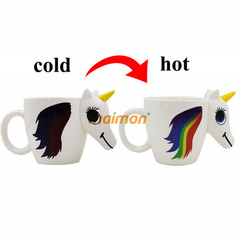 Let the Sunshine in with this Charming Color Changing Unicorn Mug!