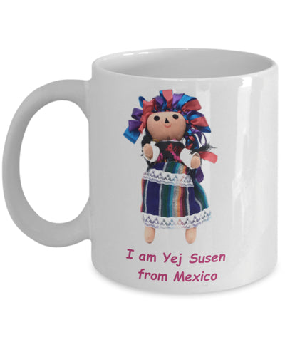 Coffee Mug - Mug With Mexican Doll