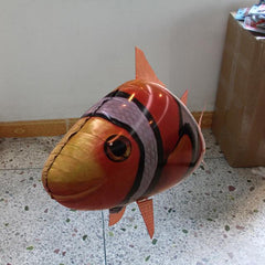 Funny Remote Control Inflatable Flying Fish