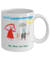 Custom Mug with Anna's Drawings