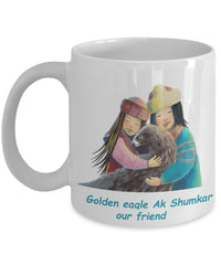 Kids - Mug With Golden Eagle