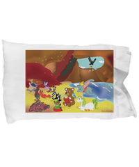 Pillow Case - Pillow With Dolls