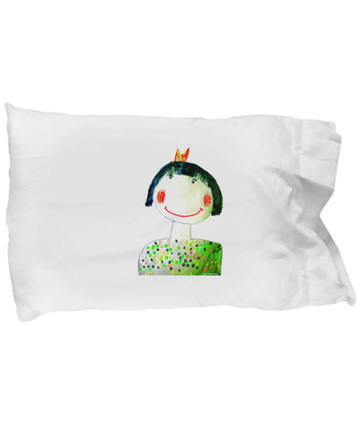 Pillow Case - Pillow With Smiling Girl