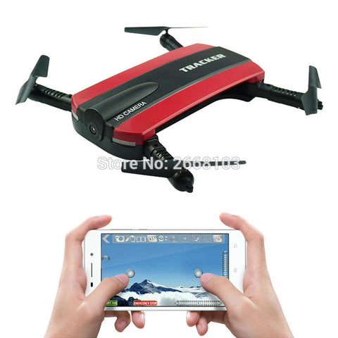 Selfie Pocket Drone Altitude Hold Foldable Quadcopter FPV Camera
