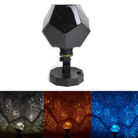 Revolving Lamp Night Light Present Romantic Cosmos Beautiful Gift Sky Projector Star Master Children Starry Christmas