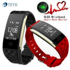 Smart Bracelet Heart Rate Monitor Fitness Pedometer Waterproof For Android and IOS