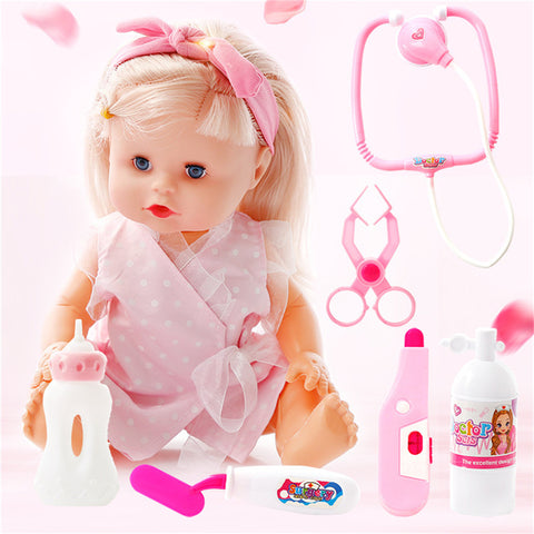 Smart Lifelike Baby Doll with Sounds
