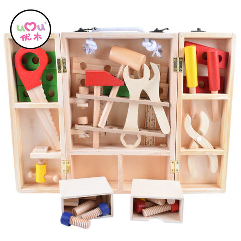 Montessori Early Education,  Wooden Tool Set