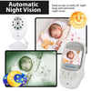 Image of Baby monitor with Light Vision, Lullabies and Baby Intercom