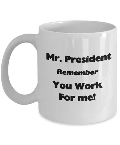 Remind the President about his Priorities-Shop for your Dreams
