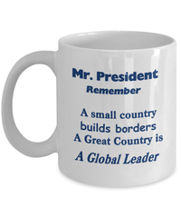 Remind the President about Leadership-Shop for your Dreams