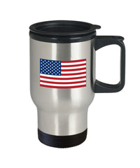Travel Mug reminding the President about Global Leadership