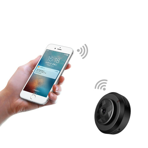 Mini Camera Home Security Control By Mobile