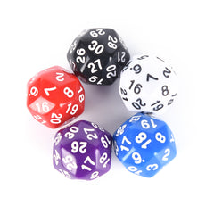 25MM 30 sided Dice Acrylic Cubes