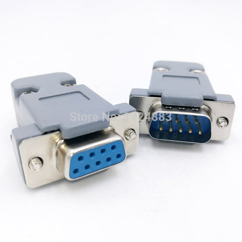 DB9 serial adapter connector Plug D