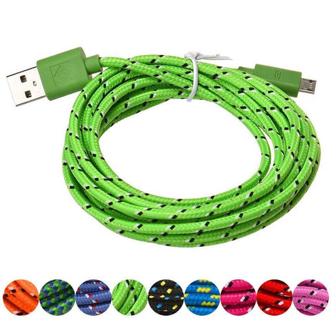Fast Charging Micro USB Cable 1M 2M