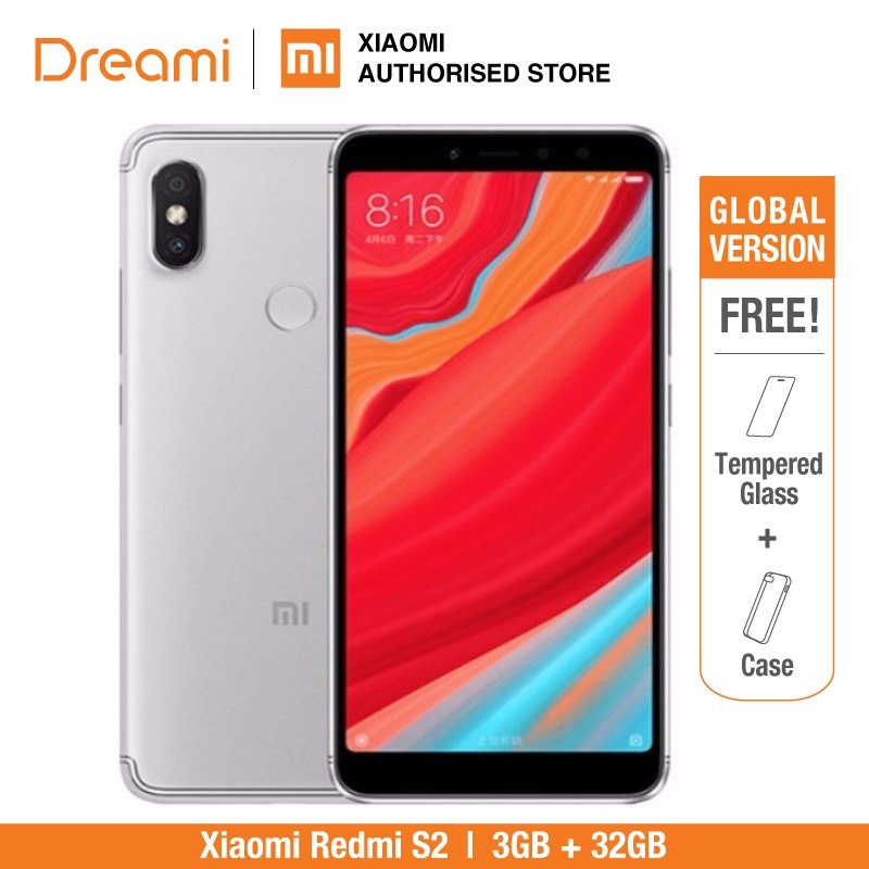 Global Version Xiaomi Redmi S2