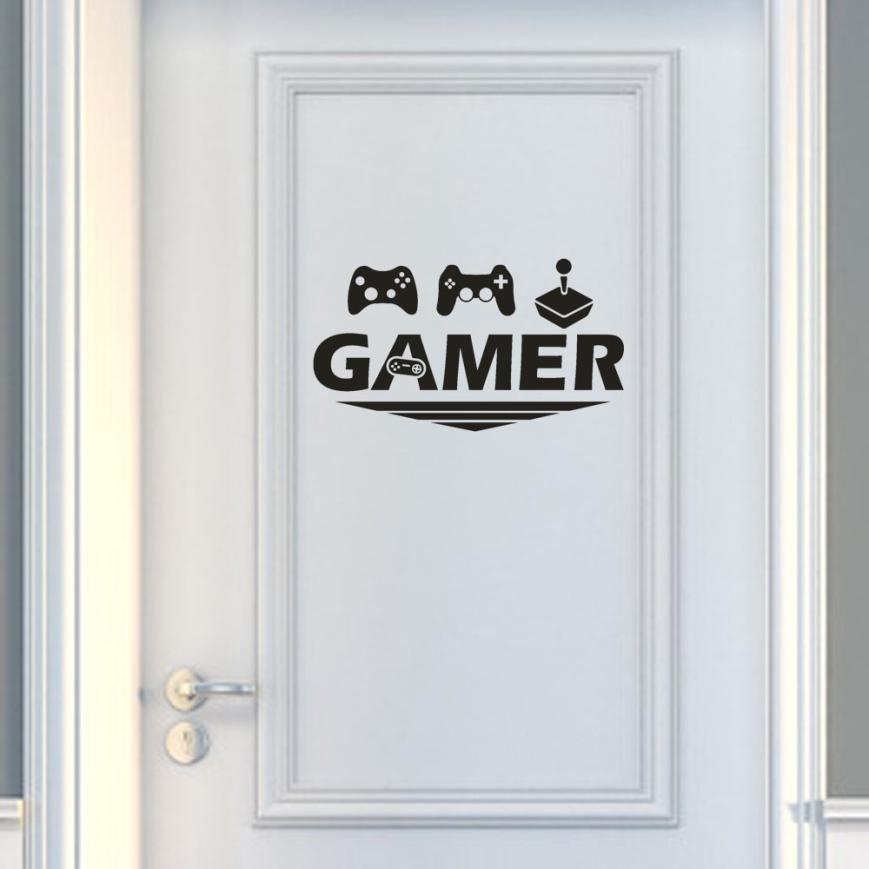 Home Decoration Living Room Gamer Wall Sticker