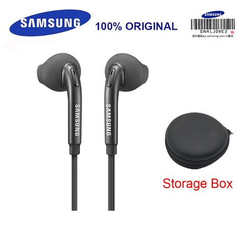 Samsung Earphone Wired with Black Storage